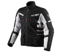 CHAQUETA REV'IT SAND 2 BLACK-SILVER
