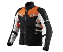 CHAQUETA REV'IT SAND 2 BLACK-ORANGE