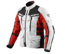 CHAQUETA REV'IT SAND 2 SILVER-RED