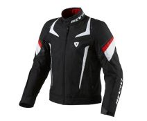 CHAQUETA REV'IT JUPITER BLACK-WHITE-RED