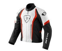 CHAQUETA REV'IT SHIELD WHITE-RED