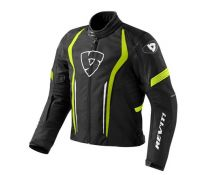 CHAQUETA REV'IT SHIELD BLACK-FLUOR