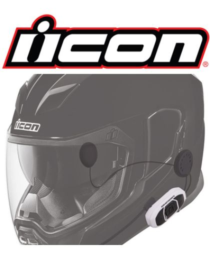 INTERCOMS PARA CASCOS ICON