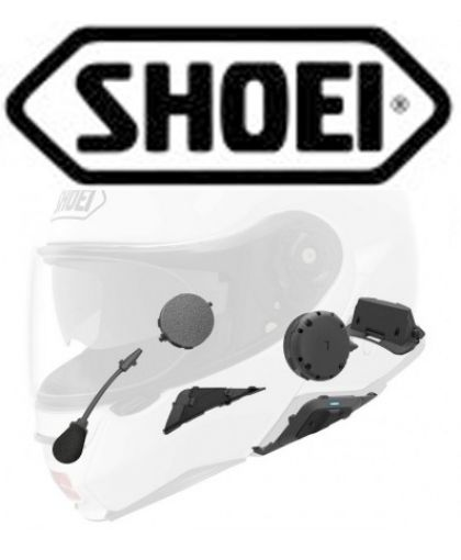 INTERCOMS CASCOS SHOEI