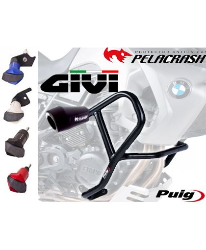 DEFENSAS Y ANTICAIDAS GIVI-PUIG-PELACRASH-LIGHTECH