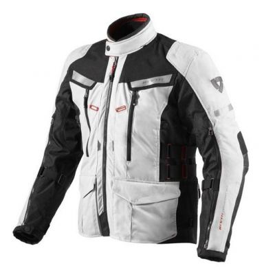 CHAQUETA REV\'IT SAND 2 SILVER-BLACK 1
