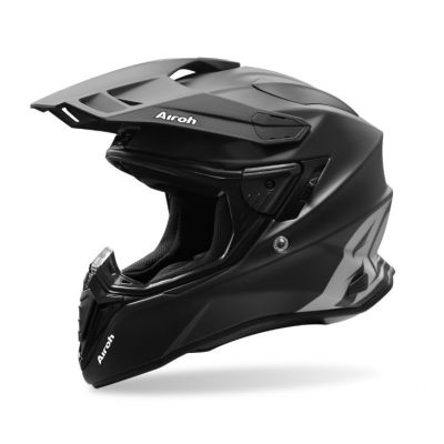 Casco Airoh Commander Progress Naranja Mate 2