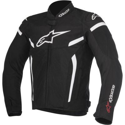 CHAQUETA ALPINESTARS T-GP PLUS R V2 AIR BLACK-WHITE