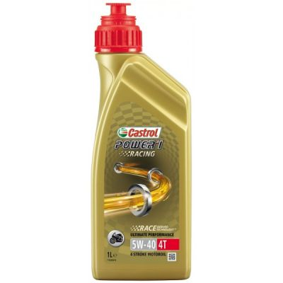 BOTELLA 1L CASTROL POWER 1 RACING 5W40  1L SINTETICO
