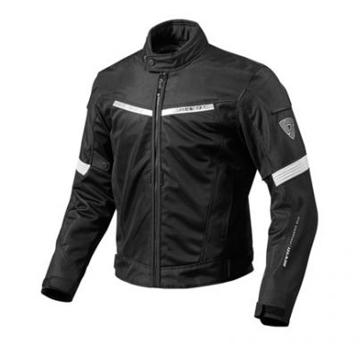 CHAQUETA REV\'IT AIRWAVE 2 NEGRO BLANCO 1