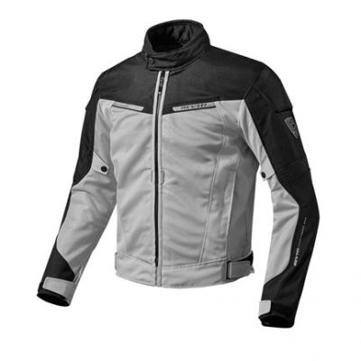 CHAQUETA REV\'IT AIRWAVE 2 PLATA NEGRO 1