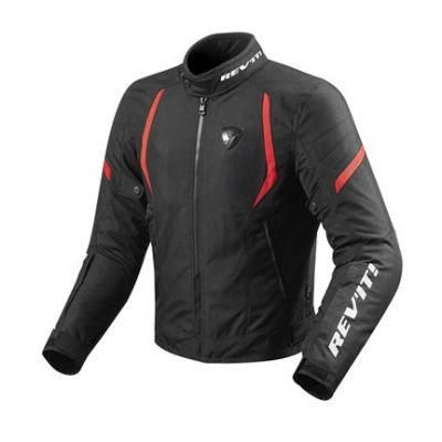 CHAQUETA REV\'IT JUPITER 2 NEGRO-ROJO 0