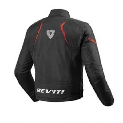 CHAQUETA REV\'IT JUPITER 2 NEGRO-ROJO 1