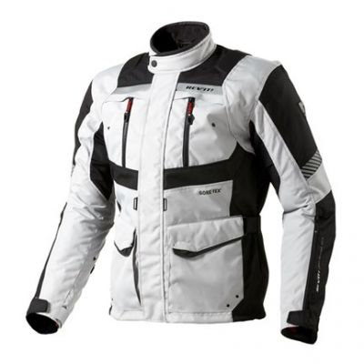 CHAQUETA REV\'IT NEPTUNE GORE-TEX PLATA NEGRO 1