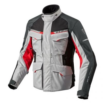 CHAQUETA REV\'IT OUTBACK 2 SILVER RED 1