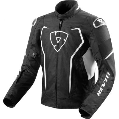 CHAQUETA REV\'IT VERTEX H2O NEGRO-BLANCO 1600 0