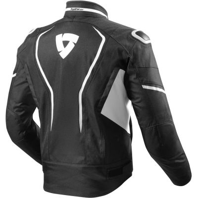 CHAQUETA REV\'IT VERTEX H2O NEGRO-BLANCO 1600 1
