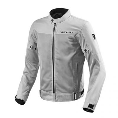 CHAQUETA REV\'IT ECLIPSE PLATA 1