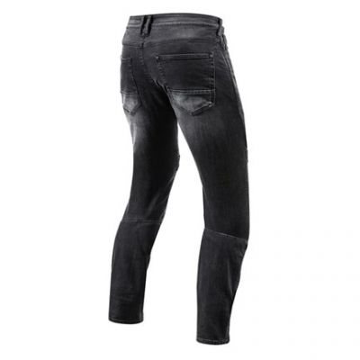 Vaqueros Rev\'it Moto Negro 6011 Estándar 1