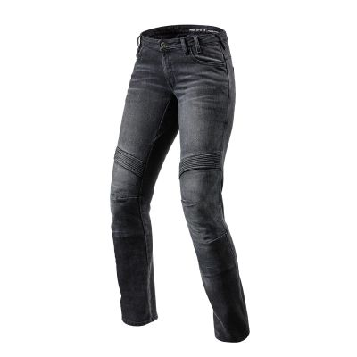 Vaqueros Rev\'it Moto Negro 6011 Estándar 0