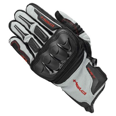 GUANTES HELD SAMBIA GRIS-NEGRO 0