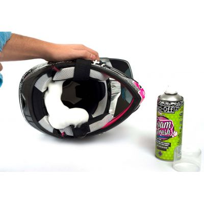 Muc-off Espuma Limpiadora Helmet Foam Fresh Spray 400ml 2