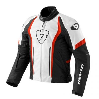 CHAQUETA REV\'IT SHIELD WHITE-RED 1