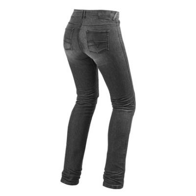 VAQUEROS REV\'IT MADISON 2 LADIES GRIS OSCURO GASTADO 1