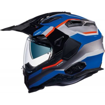 CASCO NEXX X.WED 2 X-PATROL TITANIUM-BLUE-RED 0