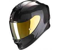 Casco Integral Scorpion Exo R1 Air Carbon Negro Brillo