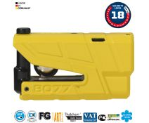 Bloqueo De Freno De Disco Abus Granit Detecto X Plus 8077 Yellow