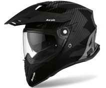 Casco Airoh Commander Full Carbon Gloss Negro Brillo