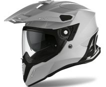 Casco Airoh Commander Concrete Gris Mate