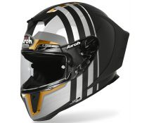 Casco Integral Airoh Gp550 S Skyline Gold Limited Edition