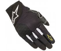 Guantes Verano Alpinestars Kinetic / Crossland Black-yellow Fluo 155