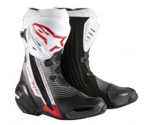 BOTAS ALPINESTARS SUPERTECH-R NEGRO-BLANCO-RED