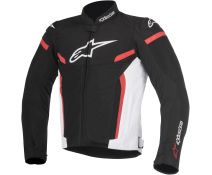 CHAQUETA ALPINESTARS T-GP PLUS R V2 AIR BLACK-WHITE-RED