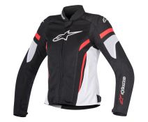 Chaqueta Mujer Alpinestars T-Gp Plus R V2 Stella Air Black-white-red