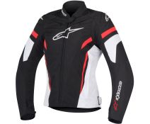 Chaqueta Mujer Alpinestars Stella T-gp Plus R V2 Black-white-red T.m