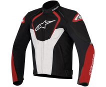 Chaqueta Alpinestars T-jaws Wp Black-white-red T.xl