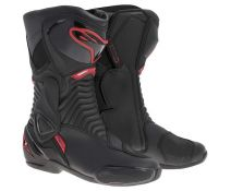 BOTAS ALPINESTARS SMX-6 BLACK-RED T.46