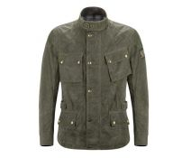 BELSTAFF CROSBY SOYWAX 6oz RACING GREEN