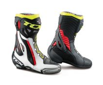 BOTAS TCX RT-RACE PRO WHITE-RED-YELLOW FLUO 7651-BIRY