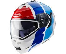 Casco Modular Caberg Duke II Impact White-Red-Blue
