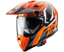 Casco Trail Caberg Xtrace Savana Grey-Orange