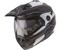 Casco Caberg Tourmax Marathon Black-Grey
