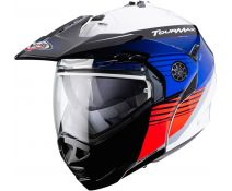 Casco Caberg Tourmax Titan Blue-White-Red