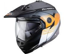 Casco Caberg Tourmax Titan Grey-Orange