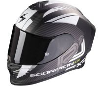 Casco Integral Scorpion Exo R1 Air Halley Negro Mate-blanco