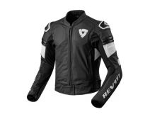 CHAQUETA REV'IT AKIRA AIR NEGRO BLANCO